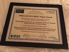 40th IEEE Conference on Local Computer Networks, 2015